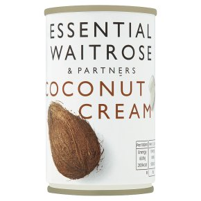 essential Waitrose coconut cream