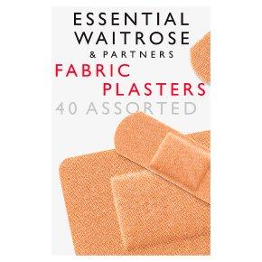 essential Waitrose fabric plasters