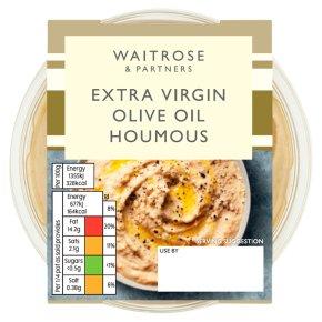 Waitrose extra virgin olive oil houmous