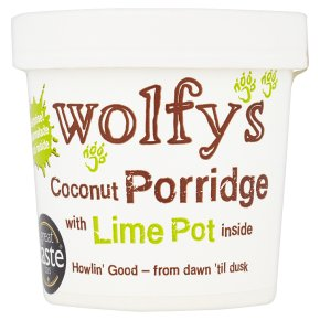 Wolfy's Coconut Porridge with Lime Pot
