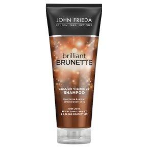 John Freida brilliant brunette moisturising shampoo