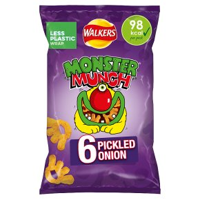 Mega Monster Munch pickled onion multipack crisps