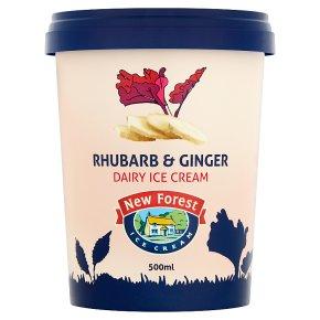 NForest Rhubarb & Ginger Ice Cream