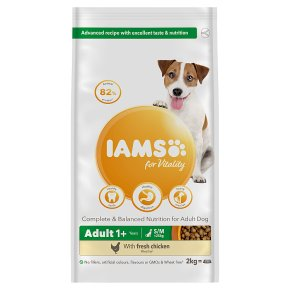 Iams for Vitality with Chicken Adult <25kg