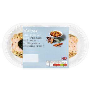 Waitrose Mini Pork Loin Joint With Sage & Onion Stuffing