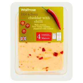 Waitrose Cheddar with Chilli Strength 4