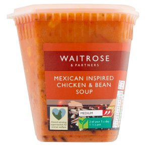 Waitrose LoveLife Mexican chicken soup
