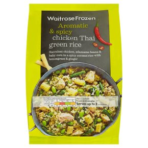 Waitrose Frozen Chicken Thai Green Rice