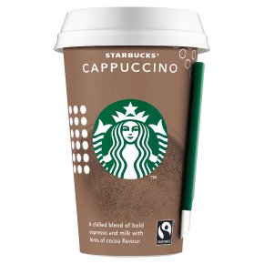 how to order cappuccino at starbucks