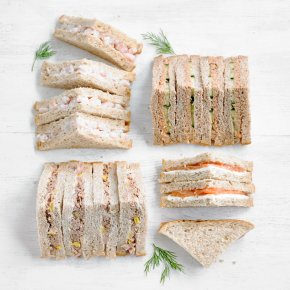 Fish Sandwich Platter, 24 pieces