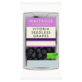 Waitrose Seedless Vitoria Grapes