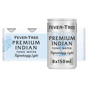 Fever-Tree Refreshingly Light Tonic Water 8x150ml
