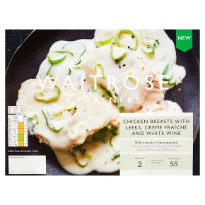 Waitrose Chicken Breasts with Leeks & White Wine