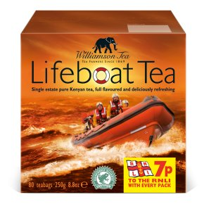 Williamson lifeboat tea 80 teabags