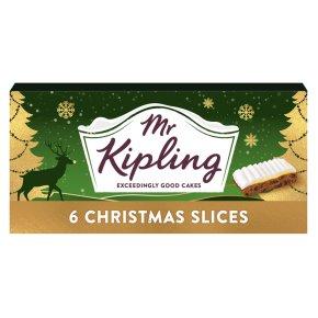Mr Kipling Christmas Slices