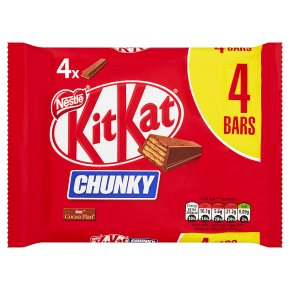 KitKat Chunky milk chocolate multipack