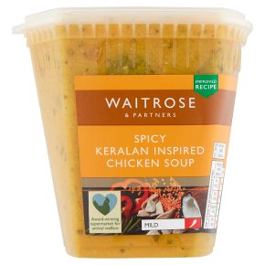 Waitrose keralan spiced chicken soup
