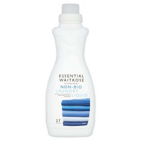 essential Waitrose Non-Bio Liquid 27 washes