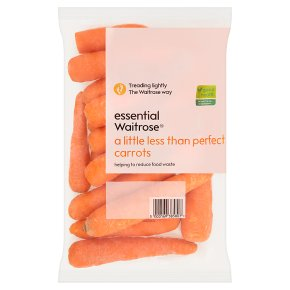 A Little Less Than Perfect Carrots