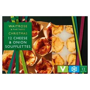 Waitrose Christmas 12 Barber's Cheddar & Onion Muffins