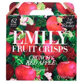 Emily Fruit Crisps Crunchy Apple Mini Packs