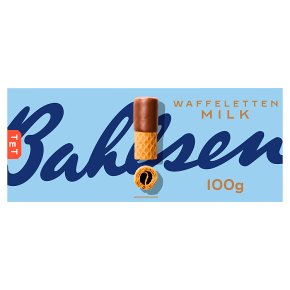 Bahlsen waffeletten milk chocolate waffer rolls