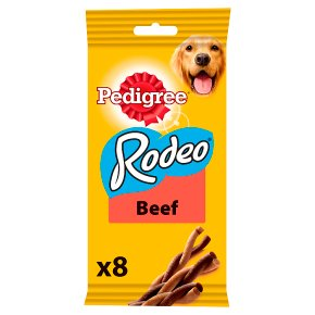 PEDIGREE Rodeo Dog Treats with Beef 8 Sticks