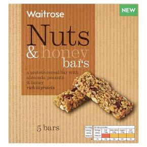 Waitrose Nuts & Honey Cereal Bars