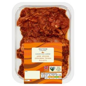 Waitrose Jerk Spiced Chicken Thigh Fillets