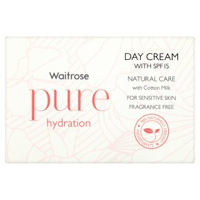 Waitrose Pure SPF15 Hydration Day Cream