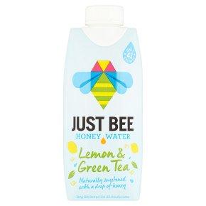 Just Bee Honey Water Lemon & Green Tea