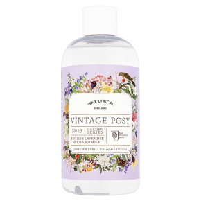 Wax Lyrical English lavender & chamomile diffuser refill