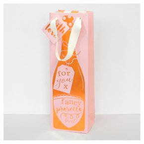 CG Fancy Prosecco Bottle Bag