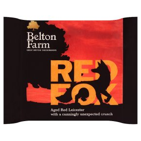 Belton Farm Red Fox Aged Red Leicester