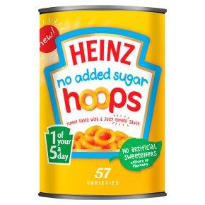 Heinz No Added Sugar Hoops