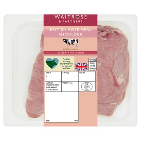 Waitrose 1 British veal shoulder joint