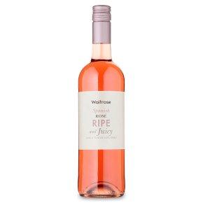 Waitrose Ripe and Juicy, Spanish, Rosé Wine