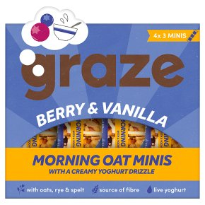 Graze Berry & Vanilla Morning Oat Minis