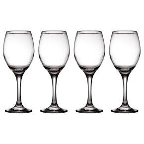 essential Waitrose large white wine glasses, pack of 4