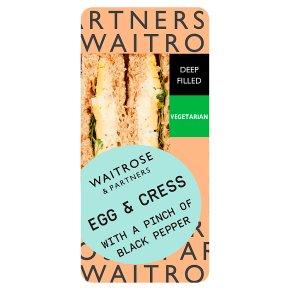 GOOD TO GO Egg & Cress Sandwich