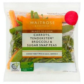 Waitrose Prepared Vegetable Trio