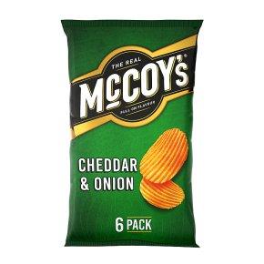 McCoy's Ridge Cut Cheddar & Onion