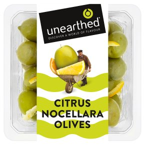 Unearthed Citrus Nocellara Olives