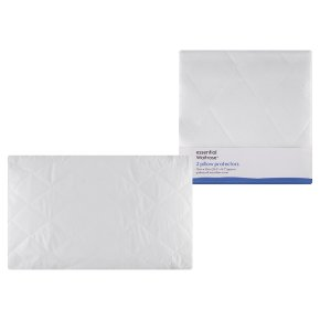 essential Waitrose pillow protectors, pack of 2