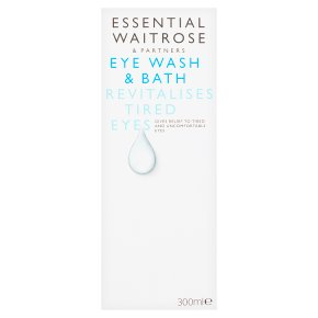 essential Waitrose Eye Wash & Bath