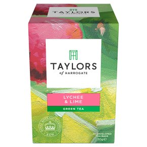 Taylors Lychee & Lime Green Tea
