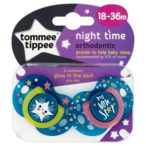 Tommee Tippee Night Soothers 18-36