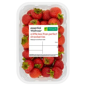 essential Waitrose A Little Less than Perfect Strawberries