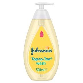 Johnson's Top-to-Toe Baby Bath