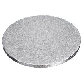 Tala 12 round Silver 12mm Cake Drum